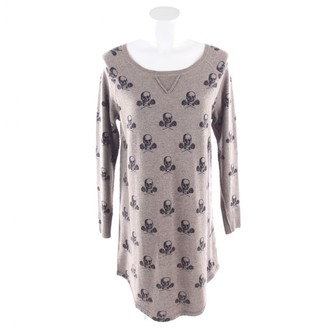 360 Cashmere Beige Cashmere Dress for Women