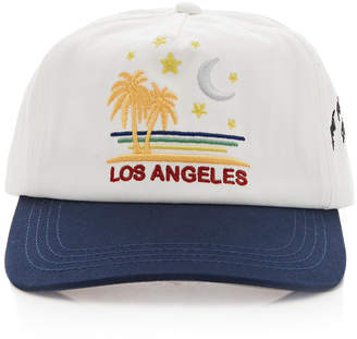 Nick Fouquet Tourist Printed Cotton Baseball Cap