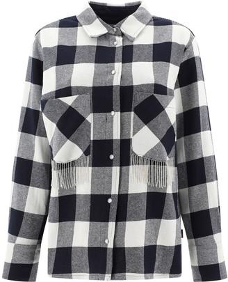 Woolrich Fringe Detail Check Shirt