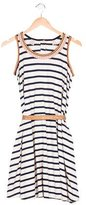 Scotch R'Belle Girls' Striped Embroidered Dress w/ Tags