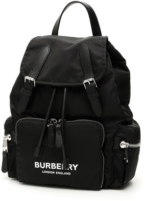 Burberry The Rucksack With Logo