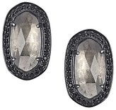 Kendra Scott Elaine Stud Earrings in Mirror Rock Crystal