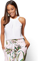 New York & Co. 7th Avenue - Halter Blouse - White