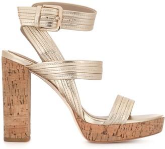 Paige Isla cork heel sandals