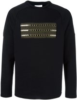 Les Benjamins applique detail sweatshirt