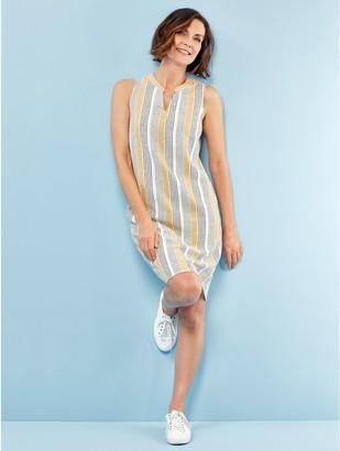 M&Co Spirit linen shift dress