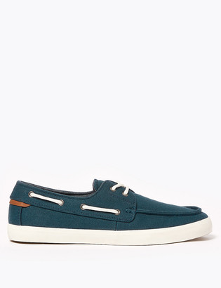 Marks and Spencer Canvas Boat Shoes