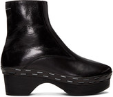 MM6 MAISON MARGIELA Black Clog Boots