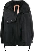 No.21 zipped long-sleeve jacket