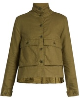The Great The Swingy pocket-front army jacket