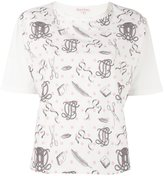 Olympia Le-Tan printed T-shirt - women - Cotton - 38