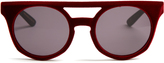 Italia Independent Velvet-coated sunglasses