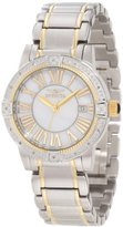 "Invicta Women's 13957 ""Angel"" Diamond-Accented Two-Tone Stainless Steel Bracelet Watch"