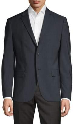 Theory Slim-Fit Printed Wool Sportcoat