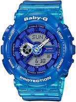 Casio BA110JM-2A Baby-G Blue Watch