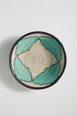 Anthropologie Fele Hanging Basket By in Blue Size M