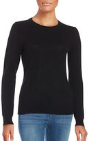 Lord & Taylor Petite Cashmere Pullover Sweater