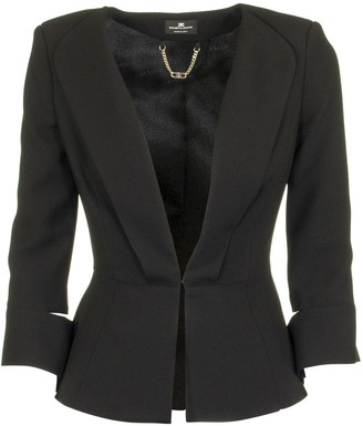 Elisabetta Franchi Celyn B. Jacket With Slits On The Sleeves