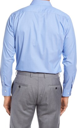 Nordstrom Trim Fit Pinstripe Non-Iron Dress Shirt
