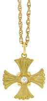 Buccellati 18K Yellow Gold Cross Necklace