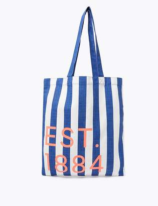 M&S CollectionMarks and Spencer Pure Cotton Canvas Shopper Bag