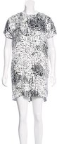 Proenza Schouler Printed Mini Dress