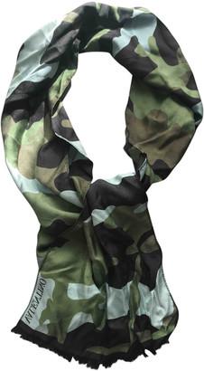 Valentino Green Silk Scarves & pocket squares