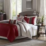 Bed Bath & Beyond Tradewinds Full/Queen 6-Piece Duvet Cover Set in Red