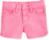 Celebrity Pink Super Soft Colored Denim Shorts, Toddler & Little Girls (2T-6X)
