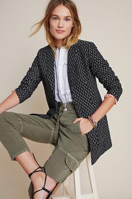 Anthropologie Filipa Textured Blazer By in Black Size XS