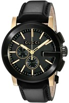 Gucci The G Chrono XL Chronograph-YA101203 Watches