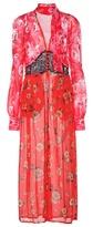 Attico Beatriz silk dress