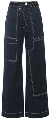 Monse High-rise wide-leg pants