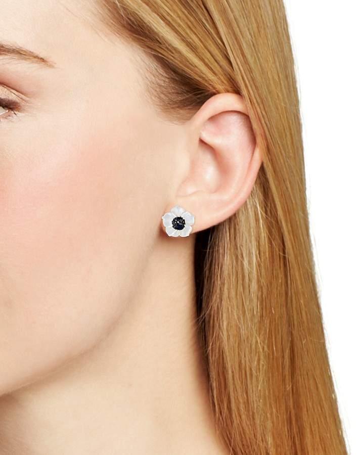 Stephen Dweck Black Sapphire Flower Stud Earrings — 100% Exclusive