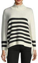 Joie Lantz Striped Turtleneck