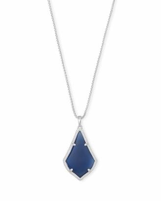 Kendra Scott Alex Long Pendant Necklace in Silver