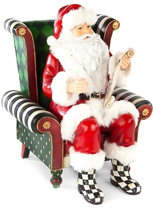 Mackenzie Childs Wish List Santa Figurine