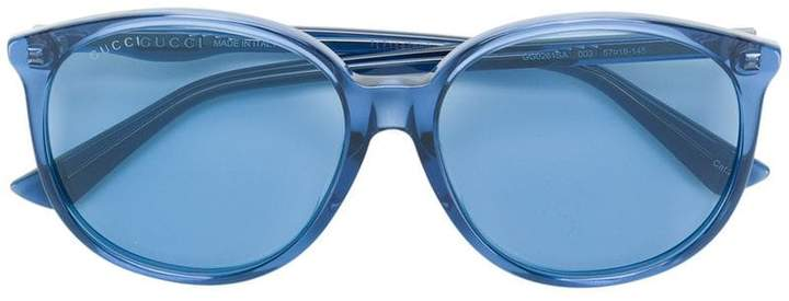 d91b63fc1b187 Blue Tinted Sunglasses - ShopStyle UK