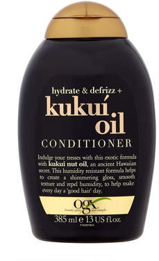 OGX Hydrate & Defrizz + Kukui Oil Conditioner 385ml