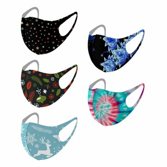 AC1 5PCS Unisex Protect Foggy Haze Anti-Spitting Headband Face Bandana