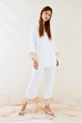 Sleeper White Party Pyjamas Set - White L at Urban Outfitters