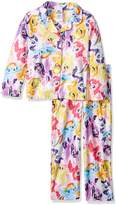 My Little Pony Little Girls' 2-Piece Pajama Coat Set