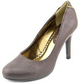 Rampage Omare Women Round Toe Synthetic Brown Heels.
