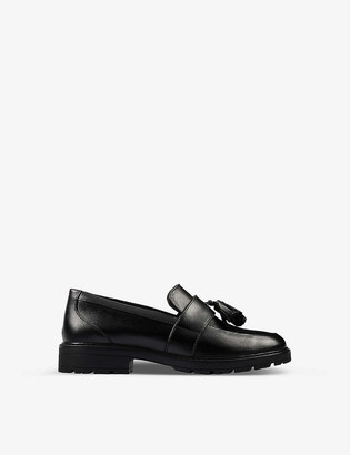 Clarks Loxham leather loafers 9-12 years