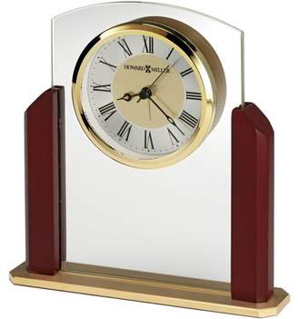 Howard Miller Winfield Tabletop Clock 645-790 - Gold-Toned with Quartz Movement