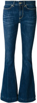 Dondup fitted flared jeans - women - Cotton/Polyester - 25