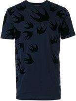 McQ by Alexander McQueen Swallow swarm T-shirt