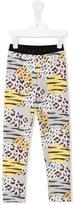 Kenzo printed leggings - kids - Cotton/Spandex/Elastane - 5 yrs