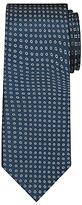 John Lewis Circle Silk Tie, Teal