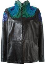 Jitrois embroidered collar jacket
